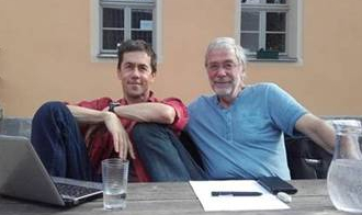 Maik Hosang und Gerald Hüther im LebensGut Pommritz